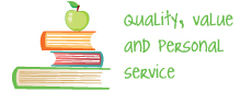 Quality, value and personal service